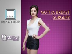 MOTIVA Breast implants use silicone gel for strong durability and elasticity. It helps to reduce the incision site during...