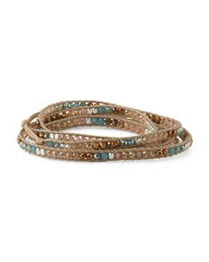 image of Czech Crystal Wrap Bracelet