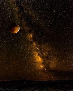 Photograph Blood Moon by Steve Snideman on 500px