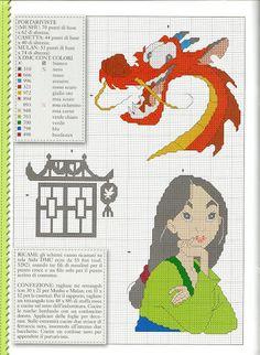 Mushu & Mulan