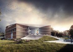 A2M Bureau d'architecture // construction passive // project // Ambassade belge à Kinshasa