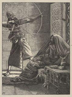 Arthur Murch | The Arrow of Deliverance (Dalziels' Bible Gallery) | The Met