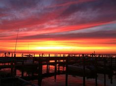 Sunsets on Fire Island - not to be missed