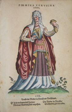 Hans Weigel - PERUGIA: Foemina Perusina in Italia. Tracht der Weiber zu Perusia in Welschland.  1577 http://www.pahor.de/data/product-list/53527.jpg