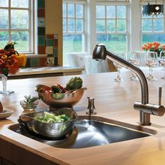 Franke Kitchen Systems Luxury Products Group Beach Prep Sink @Modenus