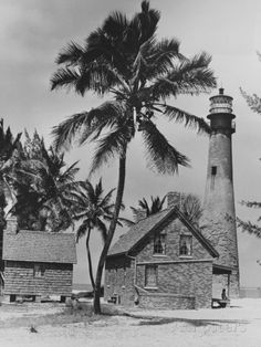 Lighthouse Museum in Key West Photographic Print Key Biscayne Florida, Key West Florida, Florida Keys, Florida Beaches, Vintage Florida, Old Florida, Key West Lighthouse, Fl Keys, Caribbean Art