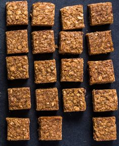 Square d? Baby Food Recipes, Cooking Recipes, Blondie Bar, Clean Eating Desserts, Granola, Healthy Snacks, Biscuits, Sweet Tooth, Almond
