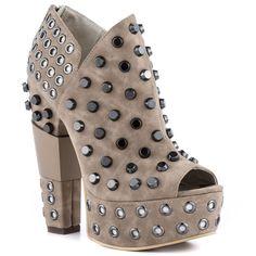 Michael Antonio Studio's Grey Kanza - Stone for 109.99 direct from heels.com