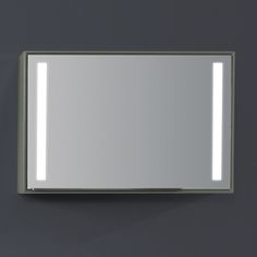 STACK mirror with LED lights that illuminate from the sides from Phoenix Design Phoenix Design, Mirror With Led Lights, Home Decor, Decoration Home, Room Decor, Home Interior Design, Home Decoration, Interior Design