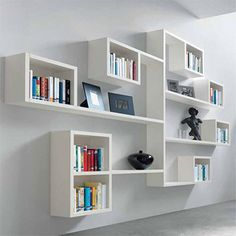 Making box shelves for mounting onto a wall to create a display, or for storage, is easy DIY once you know how. You can make box shelves that are square or rectangular, or you can create a custom display using different shapes. Wall mounted box shelves take up little space and provide lots of stor
