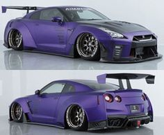 Nissan GTR body kit by AIMGAIN. Stunning gran touring style wide body kit for 2017 and up Nissan GTR Pontiac Gto, Chevrolet Camaro, Nissan Gtr R35 2017, Mustang Cars, Ford Mustang, 1966 Gto, Wide Body Kits, American Muscle Cars, Car Manufacturers