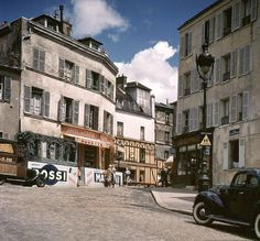 vintage everyday: Wonderful Color Photos of Paris in The Summer of 1939