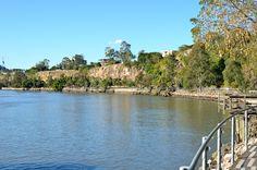 Brisbane's Riverside Walk (Kangaroo Point Cliffs, Brisbane Riverside Walk, Southbank, Brisbane)