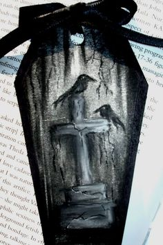 (New sets added!) Gothic Bookmarks - PAPER CRAFTS, SCRAPBOOKING & ATCs (ARTIST TRADING CARDS)