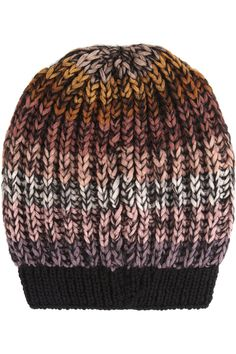 Missoni|Striped wool-blend beanie hat|NET-A-PORTER.COM