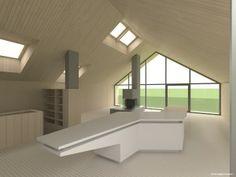 Haus am Venusgarten, Tageslicht Simulation mittels Daylight Visualizer, Architektur: DI Volker Dienst in Koop. mit Arch DI Christoph Feldbacher, ©VELUX