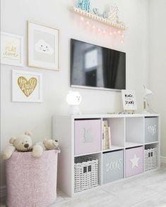Baby Girl Room Decor, Baby Room Design, Girl Bedroom Designs, Design Girl, Baby Girl Bedroom Ideas, Baby Bedroom, Nursery Design, Nursery Room, Girl Nursery
