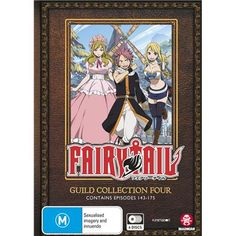Fairy Tail Guild - Collection 4. Contains episodes 143-175.