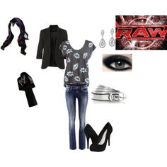 """Raw Commentary"" by ittybittykittyy on Polyvore"