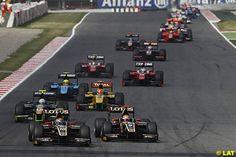 Esteban Gutierrez, Lotus GP and James Calado, Lotus GP, GP2 Series