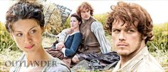 Fan art by ©Geno Acedo of Jamie and Claire