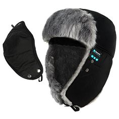 Deals week CoCo Fashion Winter Bluetooth Beanie Trooper Hat Cap with Speakers Mic Hands Free Wireless Bluetooth Headphones Headsets - Compatible with Mobile Phones iPhone iPad Tablets Android Smartphones - Black Best Selling Trooper Hat, Coco Fashion, Speakers For Sale, Ipad Tablet, Bluetooth Headphones, Mobile Phones, Cool Things To Buy, Winter Fashion, Smartphone