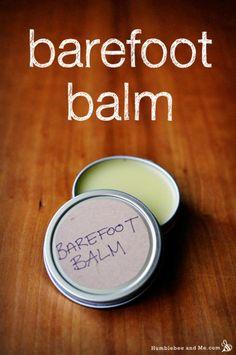 How to Make Barefoot Balm