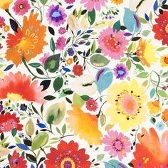 Artbook by Kim Parker | Clarke & Clarke Fabric by Duralee