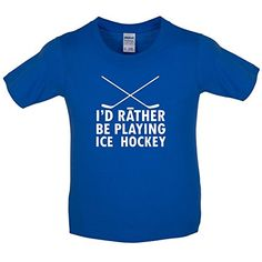 Dressdown Id Rather Be Playing Ice Hockey - Childrens / Kids T-Shirt - Royal Blue - L (9-11 Years) No description (Barcode EAN = 5053854873448). http://www.comparestoreprices.co.uk/december-2016-3/dressdown-id-rather-be-playing-ice-hockey--childrens--kids-t-shirt--royal-blue--l-9-11-years-.asp