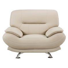American Eagle Furniture Mason Leather Armchair | Hayneedle