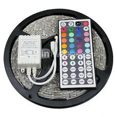 ZDM™ Waterproof 5M 150X5050 SMD RGB LED Strip Light with 44Key Remote Controller (DC12V) 2016 - $11.99