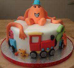 Harry's Mr Men cake