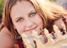 Latterell Photography - Senior who loves chess!