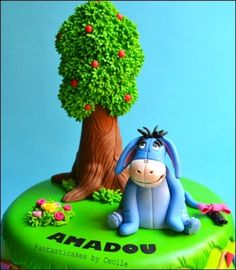 Eeyore Cake By Fantasticakes on CakeCentral.com