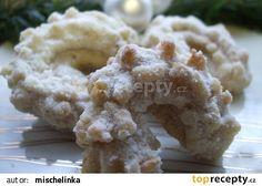 Andělské vanilkové rohlíčky recept - TopRecepty.cz Czech Recipes, Ethnic Recipes, Christmas Cooking, Graham Crackers, Potato Salad, Mashed Potatoes, Cheese, Cookies, Meat