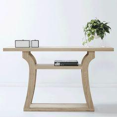 Vaughan Oak Console/Hallway Table