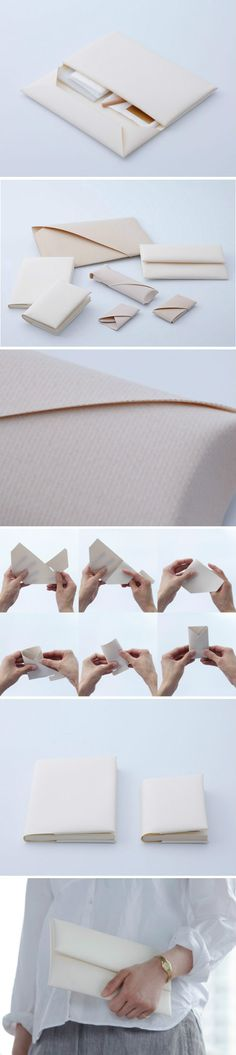 Origami envelopes by duamohsin - Pintags. Box Origami, Origami Paper, Diy Paper, Paper Art, Paper Crafts, Origami Wallet, Oragami, Origami Envelope, Diy Envelope