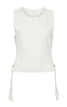 Solid Knit Tank by JONATHAN SIMKHAI for Preorder on Moda Operandi