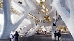 King Abdullah Financial District Metro Station - Architecture - Zaha Hadid Architects