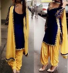 Looking for the best quality Modern Punjabi Suit and Elegant ladies Punjabi Suit in which case CLICK Visit link above to see Indian Suits Punjabi, Indian Attire, Indian Wear, Punjabi Suits 2016, Patiala Dress, Punjabi Dress, Patiala Suit, Salwar Suits, Salwar Kameez