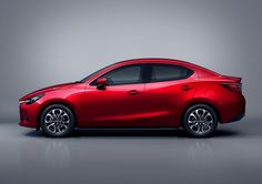 2016 Mazda2 SEDAN  revealed - Set to debut at  Thailand International  Motor Expo 2014 on Nov  28th - Engine is a  SKYACTIV-D 1.5 liter Diesel  Engine and will go on sale  early next year