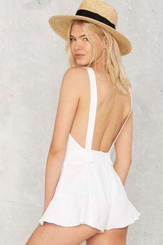 Light Me Up Linen Romper - Rompers + Jumpsuits   Sale: Newly Added   Sale: 40% Off   Rompers + Jumpsuits   Summer Whites
