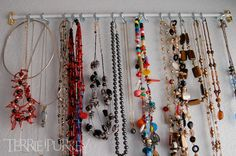 diy jewelry organizer | DIY Jewelry Organizers