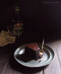 Dark Chocolate Baileys Mud Cake (Click for recipe)