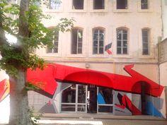 Exposition éphémère aux tableaux suer Marseille en 2015