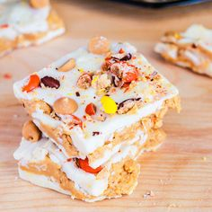 Reese's Peanut Butter White Chocolate Bark