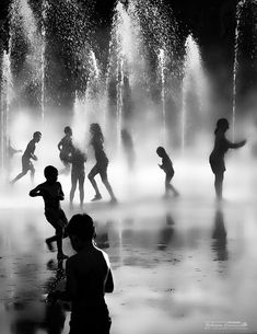 Water Ghost II by Arturo Carrasco Black and White Photography