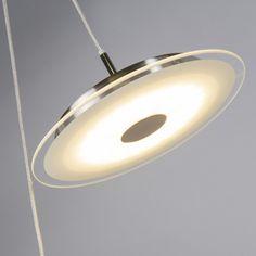 Sistema de cables 3+2 CHAOS acero LED #iluminacion #interiorismo #decoracion
