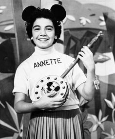 """The Mickey Mouse Club"" (1955-59)  Annette Funicello"