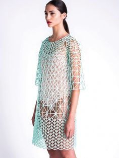 Danit Peleg, a 27 year old Israeli #fashion design student #3D printed an entire fashion collection from home!